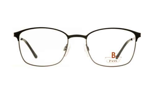 Brille P·A·S·S P547 oben schwarz matt