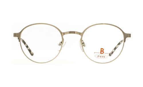 Brille P·A·S·S P548 silber glänzend |Brillenmann