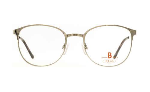 Brille P·A·S·S P549 silber glänzend |Brillenmann