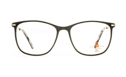 Brille K16 K1443 schwarz matt |Brillenmann