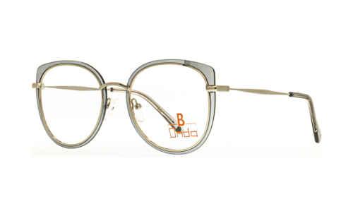 Augenrand silber verspiegelt  Brillenmann