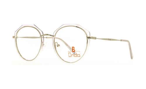 Augenrand transparent  Brillenmann