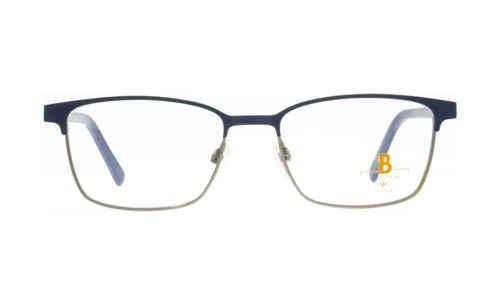Brille K16 K1471 oben blau matt
