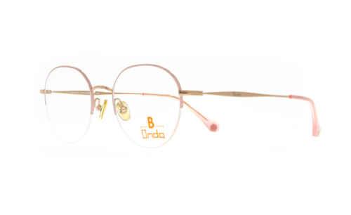 Nasensteg rosegold glänzend |Brillenmann
