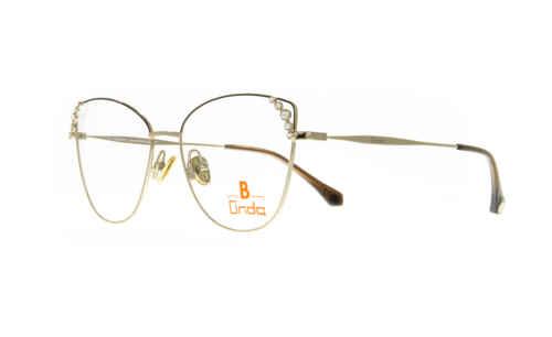 oben dunkebraun matt  Brillenmann