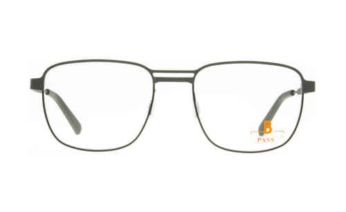Brille P·A·S·S P588 grau matt  Brillenmann