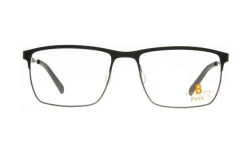 Brille P·A·S·S P590 oben schwarz matt