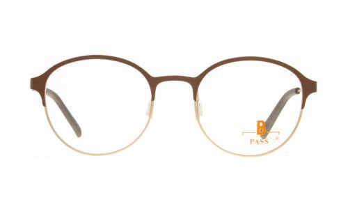 Brille P·A·S·S P592 oben braun matt