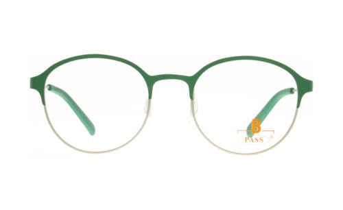 Brille P·A·S·S P592 oben grün matt