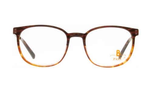 Brille P·A·S·S P593 braun-rot gemustert glänzend |Brillenmann