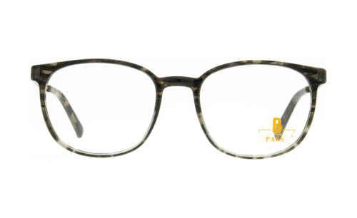 Brille P·A·S·S P593 grau havanna glänzend  Brillenmann