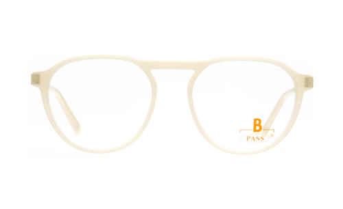 Brille P·A·S·S P594 creme/beige glänzend  Brillenmann