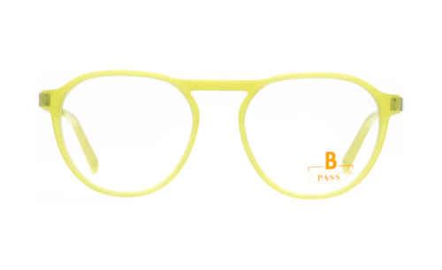 Brille P·A·S·S P594 neon gelb glänzend  Brillenmann