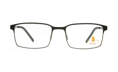 Brille P·A·S·S P604 schwarz matt  Brillenmann