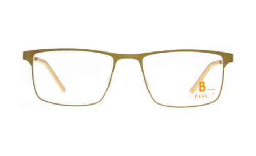 Brille P·A·S·S P605 gold matt  Brillenmann