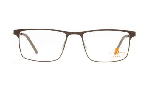 Brille P·A·S·S P605 braun matt  Brillenmann